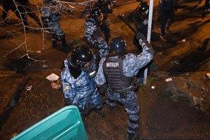 """""""Беркут"""" фотографировался, ставя ноги на головы избитых на Банковой людей, - задержанный (ДОБАВЛЕНО  ВИДЕО)"""