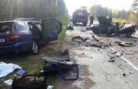 5 человек погибли в ДТП в Житомирской области