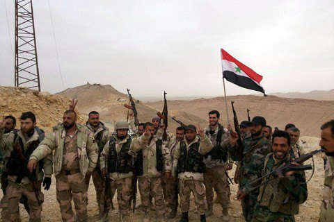 Сирийская армия установила полный контроль над Дейр-эз-Зором
