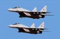 У Єгипті через технічну несправність розбився куплений у Росії винищувач МіГ-29