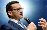 Прем'єр Польщі: після запуску Північного потоку-2 виявиться, що українська ГТС не потрібна