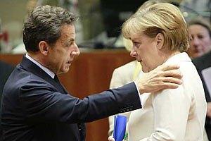Меркель и Саркози решили создать правительство для еврозоны