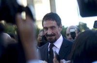 Творця антивірусу McAfee знайшли мертвим в іспанській в'язниці