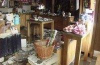В центре Киева сгорел магазин элитной косметики