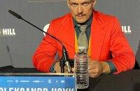 На пресконференції перед боєм з Джошуа Усик відповідав на всі запитання українською мовою