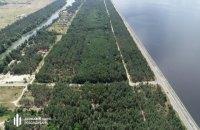 ГБР разоблачило попытку продать под застройку 50 га леса на берегу Днепра выше Киева