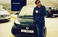 Мілевському в Хорватії подарували машину