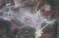 Опубліковано супутникові фото наслідків удару по хімоб'єктам у Сирії