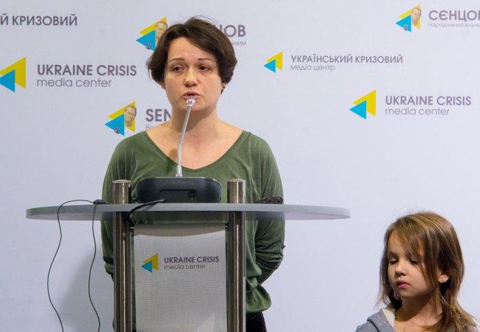 Директора фонду «Діти з гемофілією» Ніна Астафорова-Яценко сама теж мати дівчинки з хворобою Віллі-Брандта