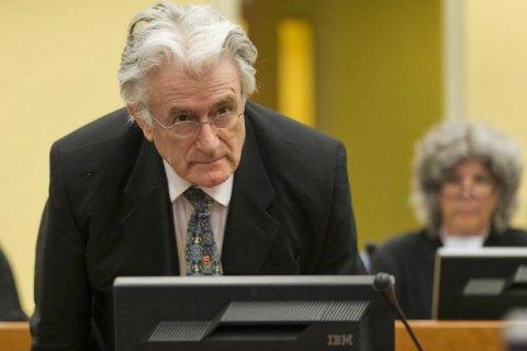 Караджич подає апеляцію на40-річний вирок Гаазького трибуналу