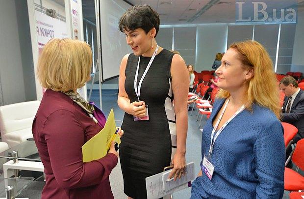 Iryna Herashchenko, Sonya Koshkina and Natalia Klauning