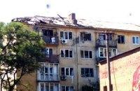 В Луганске в жилые дома попали снаряды: 2 человека погибло и 8 ранены