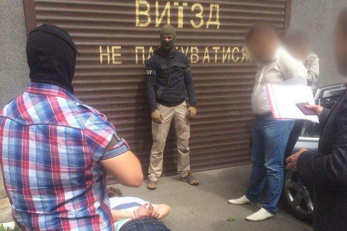При получении 50 тыс. взятки наЧерниговщине схвачен чиновник лесохозяйственной области,— СБУ