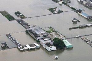 В Японии из-за дождей эвакуируют 400 тыс. человек