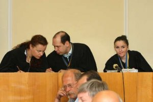 Присутствующих на заседании по делу Луценко удалили из зала
