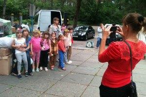 З початку проведення АТО з Донбасу евакуювали понад тисячу дітей