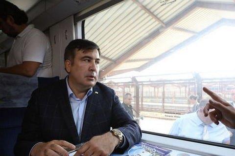 Польские пограничники пропустили Саакашвили наукраинский пункт пропуска