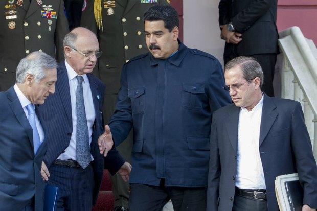 Николас Мадуро и комиссия УНАСУР