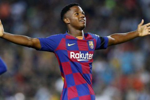 «Барселона» начала вести переговоры сАнсу Фати поновому договору