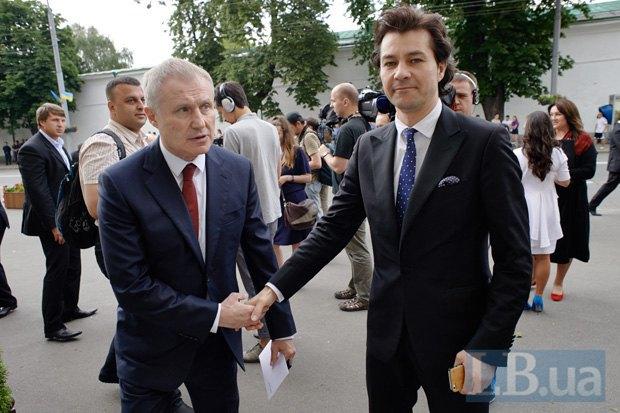 Григорий Суркис и Евгений Нищук