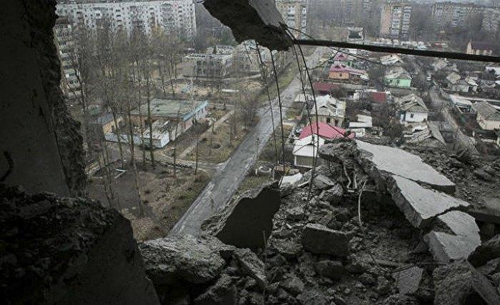 Кадр из фильма 'Донбасс. Окраина'
