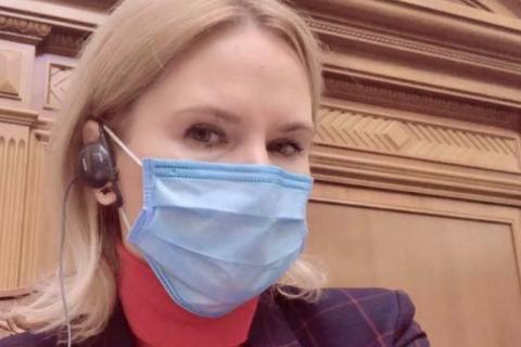 Ковид в Раде: Кондратюк заявила о готовности вести заседание