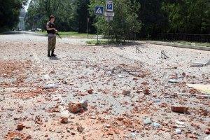 Донецк ночью подвергся артобстрелам