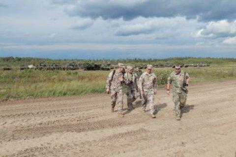 Представители Латвии проинспектировали военные полигоны в Беларуси