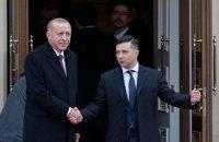 Ердоган привіз Зеленському матеріали на своїх ворогів в Україні