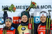 Биатлон: Дмитрий Пидручный совершил настоящий прорыв в гонке преследования на этапе Кубка мира