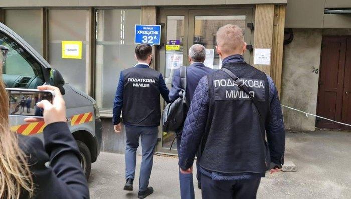 Обыски на одном из коммунальных предприятий Киева