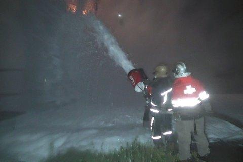 На електростанції в Харкові сталася пожежа