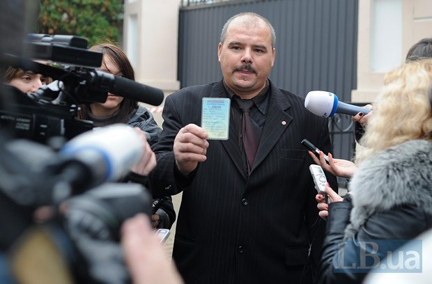 Олег Кравец, бывший глава Жовтневой районной организации Батькивщины, вышедший из Батькивщины