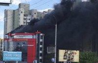 В Кишиневе одновременно произошли два крупнейших за последние годы пожара