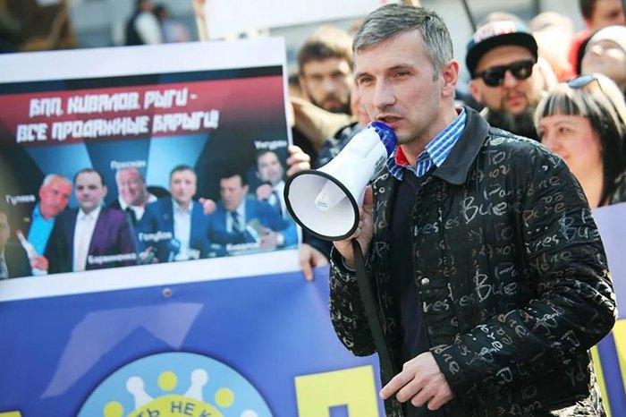 Одеський активіст Олег Михайлик