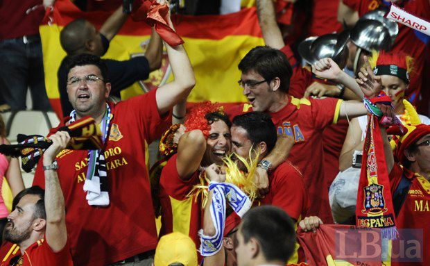 Собрная Испании отлично выступила на Евро-2012 вопреки оценкам экономистов