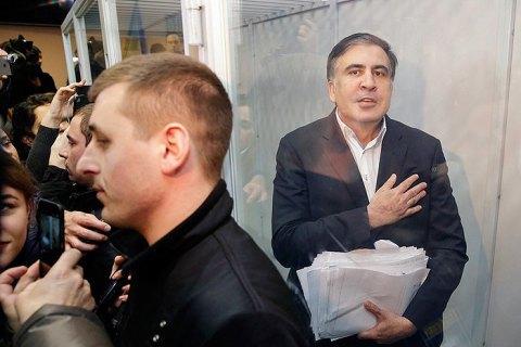 Розгляд апеляції з приводу домашнього арешту Саакашвілі перенесли на 3 січня