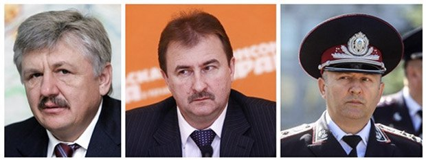 Сівкович, Попов і Коряк - фігуранти розслідування про силовий розгон 30 листопада.