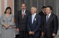 Президент Монголии дал медаль львовскому губернатору