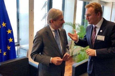 Садовий запропонував у Брюсселі залучити європейців до управління українською ГТС