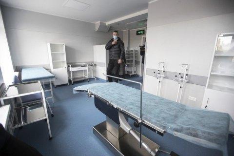 Кличко посетил только что отремонтированную больницу для больных коронавирусом