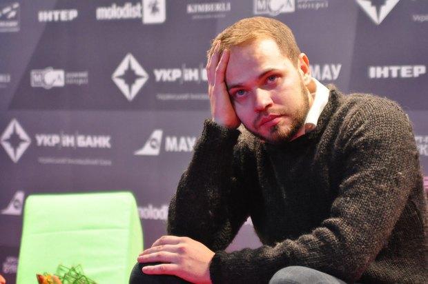 Дмитрий Моисеев на презентации своего фильма