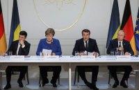 """Зеленський проводить консультації з лідерами """"нормандської четвірки"""" через загострення на Донбасі"""