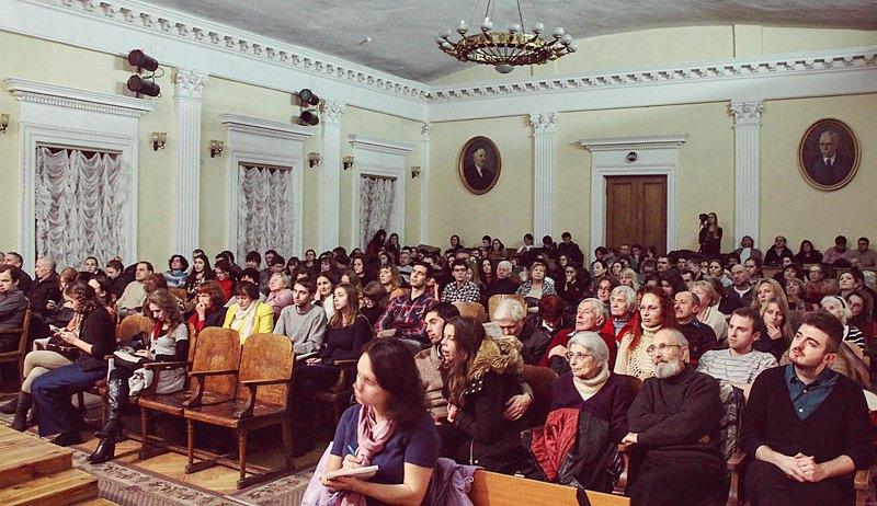 Концерт фестиваля в Национальной музыкальной академии Украины имени Чайковского