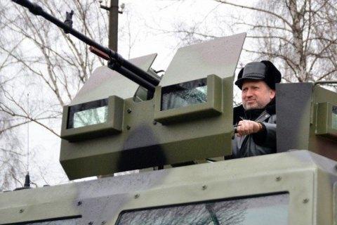 Турчинов закликав створити інформаційну армію для боротьби з російською пропагандою