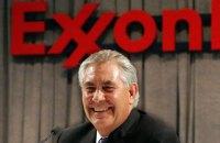 Кандидат на пост госсекретаря США откажется от доли в ExxonMobil