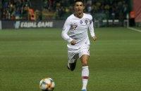 Роналду стал лучшим бомбардиром в истории отборочных турниров на Евро