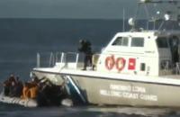 У Греції берегова охорона стріляла в море біля човна з мігрантами