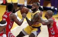 Матч НБА был прерван грандиозной дракой