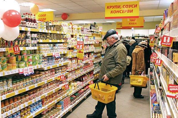Цены в украинских супермаркетах растут каждый день